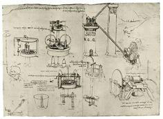 Великий Леонардо: картины, рисунки, чертежи высокого разрешения (до 4100 pix по дл. ст.) ч.1 (78 работ)