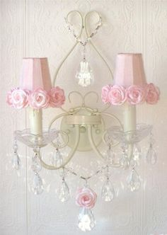 A Vintage Room Double Light Wall Sconce with Rose Shades in Pink by A Vintage Room, http://www.amazon.com/dp/B00A50MIEQ/ref=cm_sw_r_pi_dp_4lExsb1AZKSA0