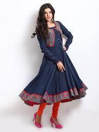 kurti with jacket Biba Fashion, Indian Fashion, Ethnic Outfits, Indian Outfits, Indian Attire, Indian Wear, Kurtha Designs, Kurti With Jacket, Beautiful Dress Designs