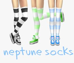 Sims 4 CC's - The Best: Socks by Objuct