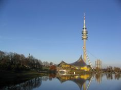 Munich Olympic Park and Tower, home of 1972 summer Olympics (also where the tragic Olympic massacre occurred)