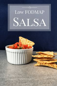 Whether you're looking for something to serve on game day or just a healthy snack, this low FODMAP salsa is sure to please. Make with fresh ingredients and a little pizzaz, this recipe will steal the show! Fodmap Diet, Low Fodmap, Fodmap Foods, Fodmap Meal Plan, Keto Foods, Sans Lactose, Sans Gluten, Salsa, Fresco
