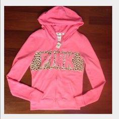 ISO!! This exact pink cheetah full zip in a size small or medium! This exact half zip size small or medium! This exact Sherpa blanket ❤️ really only wanting to trade right now! Tag me or comment and let me know if you have any of these and would trade for something in my closet! Thank you  PINK Victoria's Secret Sweaters