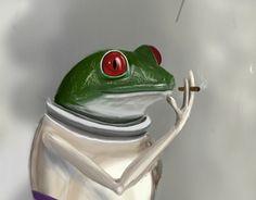Ознакомьтесь с моим проектом в @Behance: «Frogspace»…