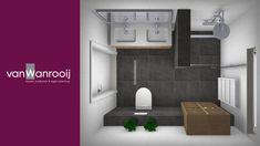 Badkamerontwerp Alcove, Showroom, Bathroom Lighting, Bathtub, Mirror, Furniture, Home Decor, Bathroom Light Fittings, Standing Bath