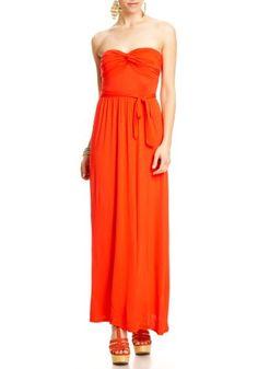 good 2B Lauren Strapless Maxi Dress