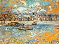 Place de la Concorde,1910 by Pierre Bonnard