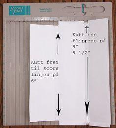 Ann Kristins fristed: Mal på 200 g sjokoladekort Folded Up, Folded Cards, Diy And Crafts, Paper Crafts, Gift Bags, Cardmaking, Christmas Crafts, Letter, Layout