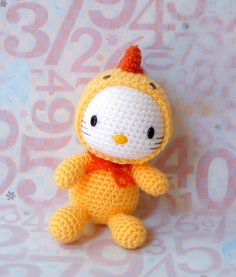 Crochet amigurumi Crochet Pattern zodiaque coq par ZodiacGurumi