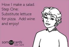 How I make a salad