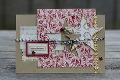 jbs inspiration: Christmas Card with Red/Black Extension V