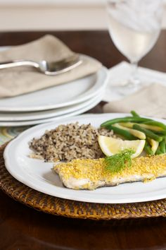 For a lighter alternative to fried fish, this Dill Encrusted Trout featuring TOSTITOS tortilla chips is a quick and easy family-friendly dinner. #FritoLayNoms