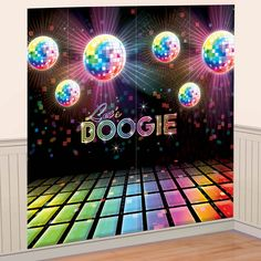 80s Theme Party Centerpieces   Disco Party Images Disco party wall decoration (2