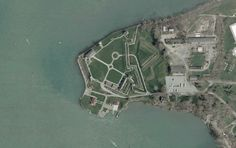 Old Fort Niagara from air