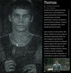 Facts about Thomas
