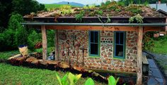 Have you ever heard of cordwood masonry, cordwood construction, stackwall, log-end, stovewood or stackwood? They all describe the same type of house building method and we have a brand new album at our main site full of inspirational images. http://theownerbuildernetwork.co/cordwood/ Let us know if this could be your new style of dream home.