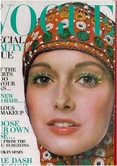 Cover Model: Karen Graham - Vogue 1970