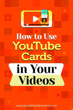 Adding a YouTube card to your videos creates a clickable call to action (CTA) that prompts viewers to respond.