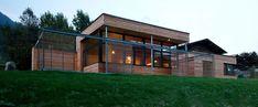 pedit & partner architekten Partner, Garage Doors, Shed, Exterior, Outdoor Structures, Outdoor Decor, Home Decor, Wood Facade, Solar Shades