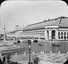 The Manufactures and Liberal Arts Building, 1893 // World's Columbian Exposition, Chicago