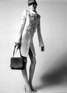 BALENCIAGA | Fall/Winter 2005 Ad Campaign. Freja Beha Erichsen By David Sims.