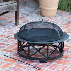 An inexpensive way to have a fire pit in the backyard this summer