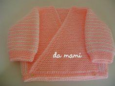damami: Casaquinho fácil em trico