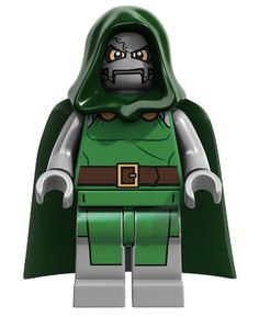 Next Year's LEGO Marvel & DC Collection - Dr. Doom