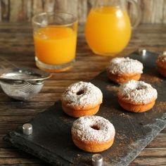 Yogurt-cinnamon donuts