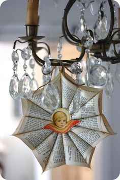LILLA BLANKA: ☆ How to make a vintage paper star ☆