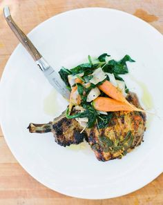 grilled pork chops #ClippedOnIssuu from Summer Issue