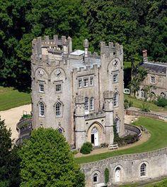 small castle in Bath, England