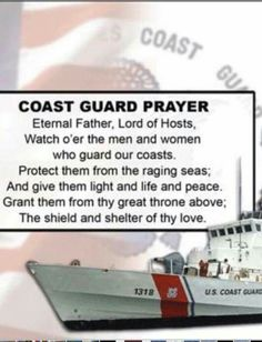 The Coast Guard prayer