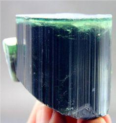118 Gram Terminated & Damage Free Emerald Green Cap TOURMALINE Crystal @ Afghan