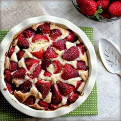 Can't wait for some fresh strawberries so I can make this delish creature. Strawberry pie.
