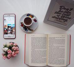 Book caffe photo flower iPhone huge love