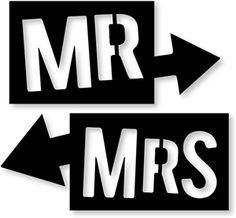View Design: mr & mrs arrows