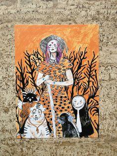 Cartolina burn di theberingsea su Etsy