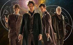 Waaait a second... Who's that fourth guy in the front left? Something has changed in the whovianverse! Let me know who that guy is in the comments below please:)