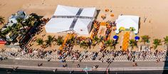 Yacht-inspired Olympic pavilion by Henning Larsen brings Danish culture to Rio Danish Flag, Danish Culture, Henning Larsen, Acrylic Set, Rio Olympics 2016, Famous Architects, Rio 2016, Find Picture, Sustainable Architecture