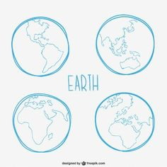Earth sketches