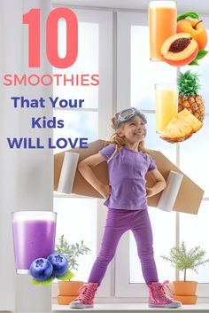 These smoothie recipes are perfect for any kid. What's great about making your child smoothies is that you can sneak in super health vegetables that they normally would try to avoid. Now they get to enjoy a tasty treat while still getting all of their necessary nutrition. Check out these simple recipes, and watch as your kid gets hooked on smoothies!