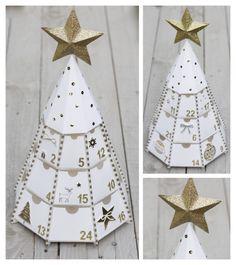Calendrier+de+l'avent Nordic Christmas, Family Christmas, Christmas Time, Advent Calenders, Diy Advent Calendar, Christmas Paper Crafts, Christmas Ornaments, Carton Design, Christmas Scents