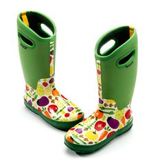 Deep treads on the Classic Garden Boots prevent slipping. $110 from @April Kinder- Kreienbrink Footwear