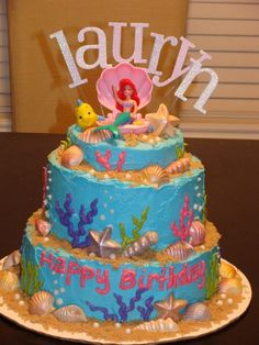 Mermaid cake @Annie Inspiration #3: Cakes! |