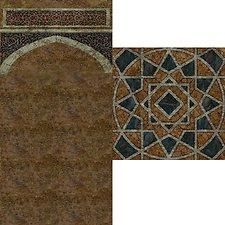 """Mod The Sims - wall/floor """"ancient middle east"""""""
