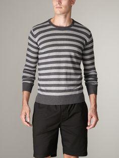 Weathered | Newman Stripe Sweater...love!