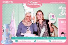 #cakedecorating #photobooth #cakeandbakeshow