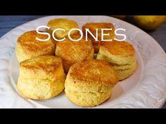 Receta scones escones faciles y exquisitos - Signal Tutorial and Ideas Desert Recipes, Gourmet Recipes, Sweet Recipes, How To Make Scones, Homemade Tortillas, Donuts, Bakery, Easy Meals, Stuffed Peppers