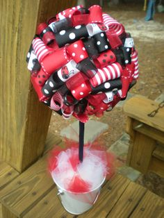 lady bug chair | Notions from Nonny: Lady Bug Theme Party